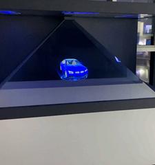 汽车模型全息投影展示柜