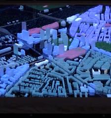 交互式城市电子沙盘