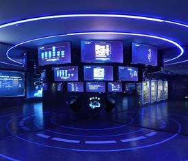 阿里智慧未来企业展厅设计