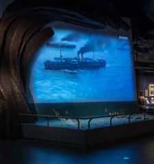黄海大战异形投影